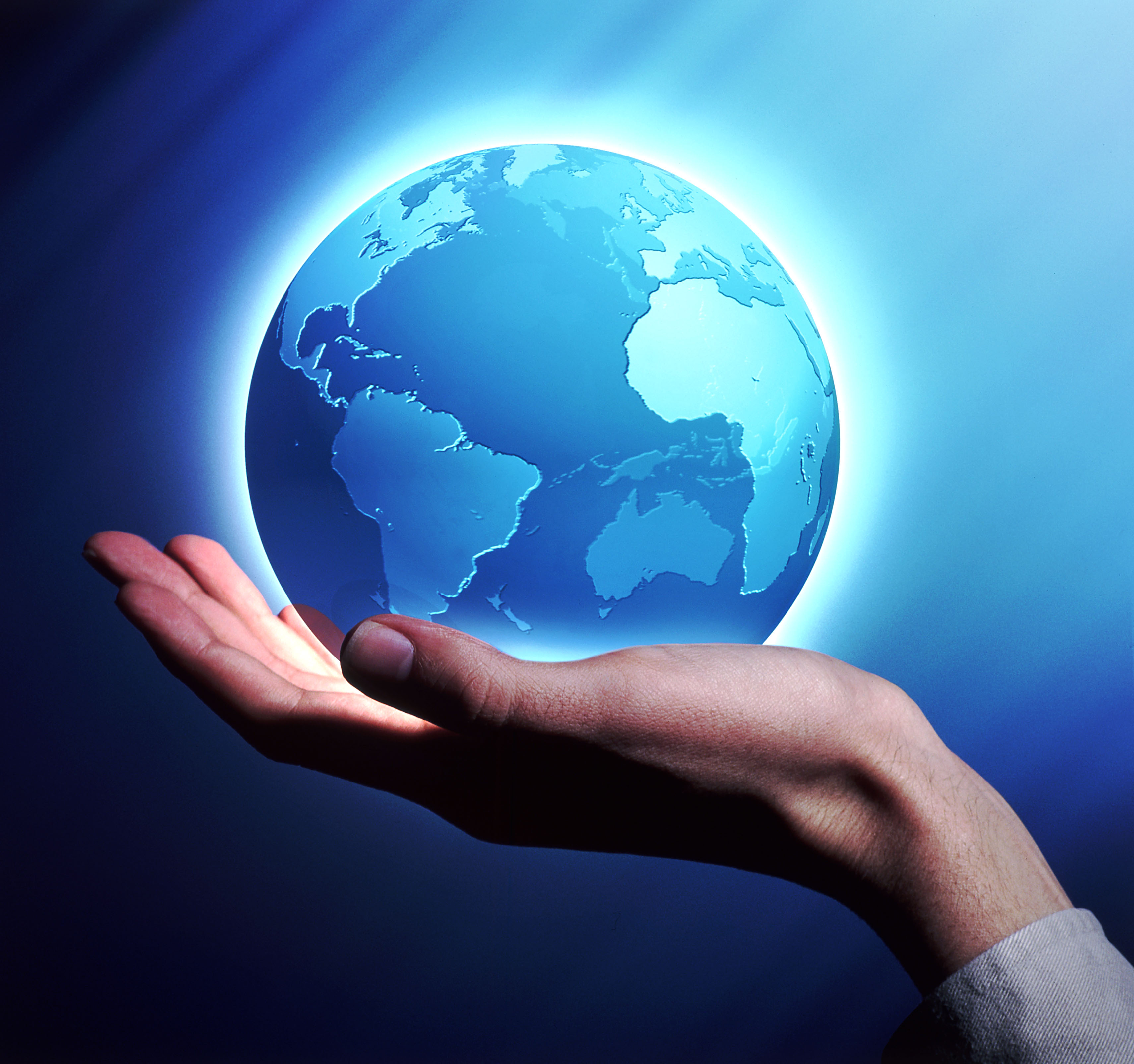 The world in the hand of God